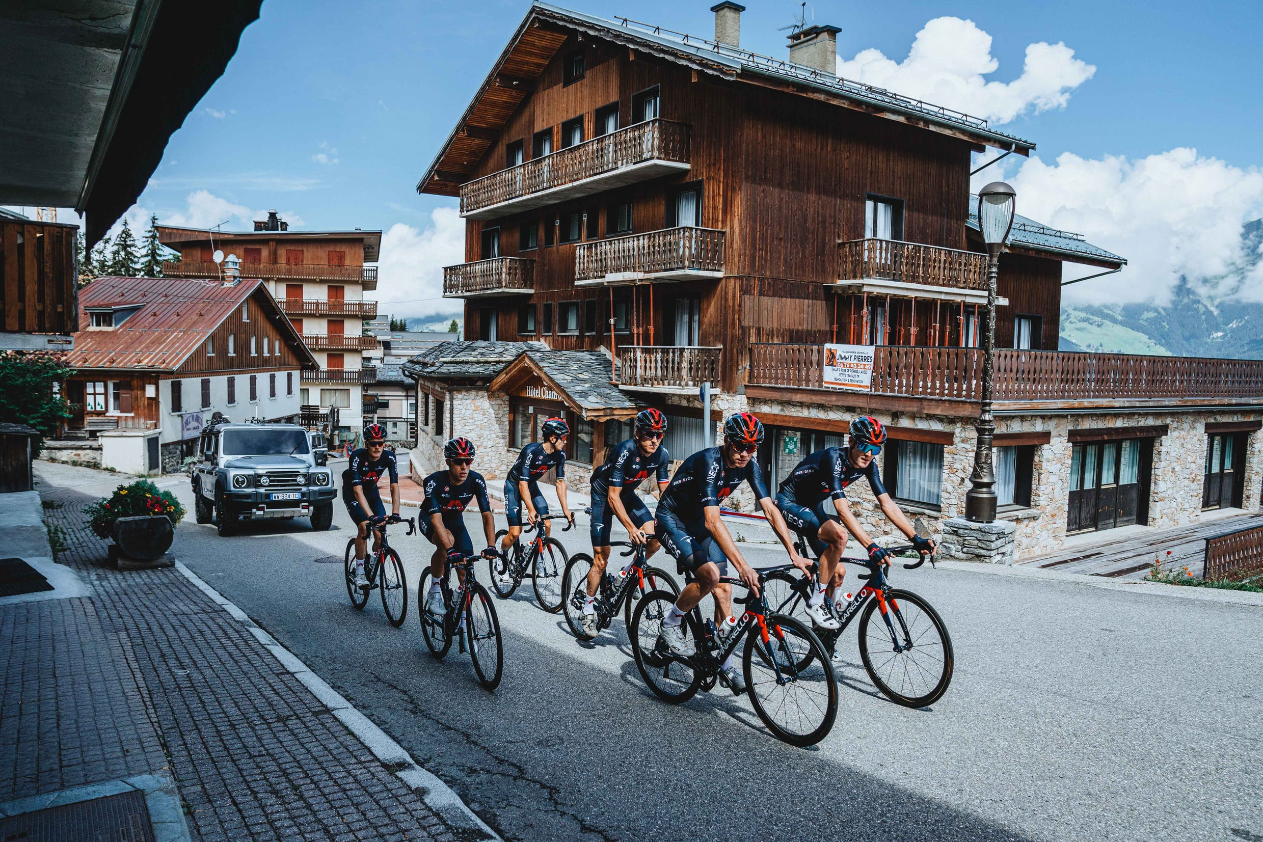 INEOS Grenadiers launch ahead of Tour de France