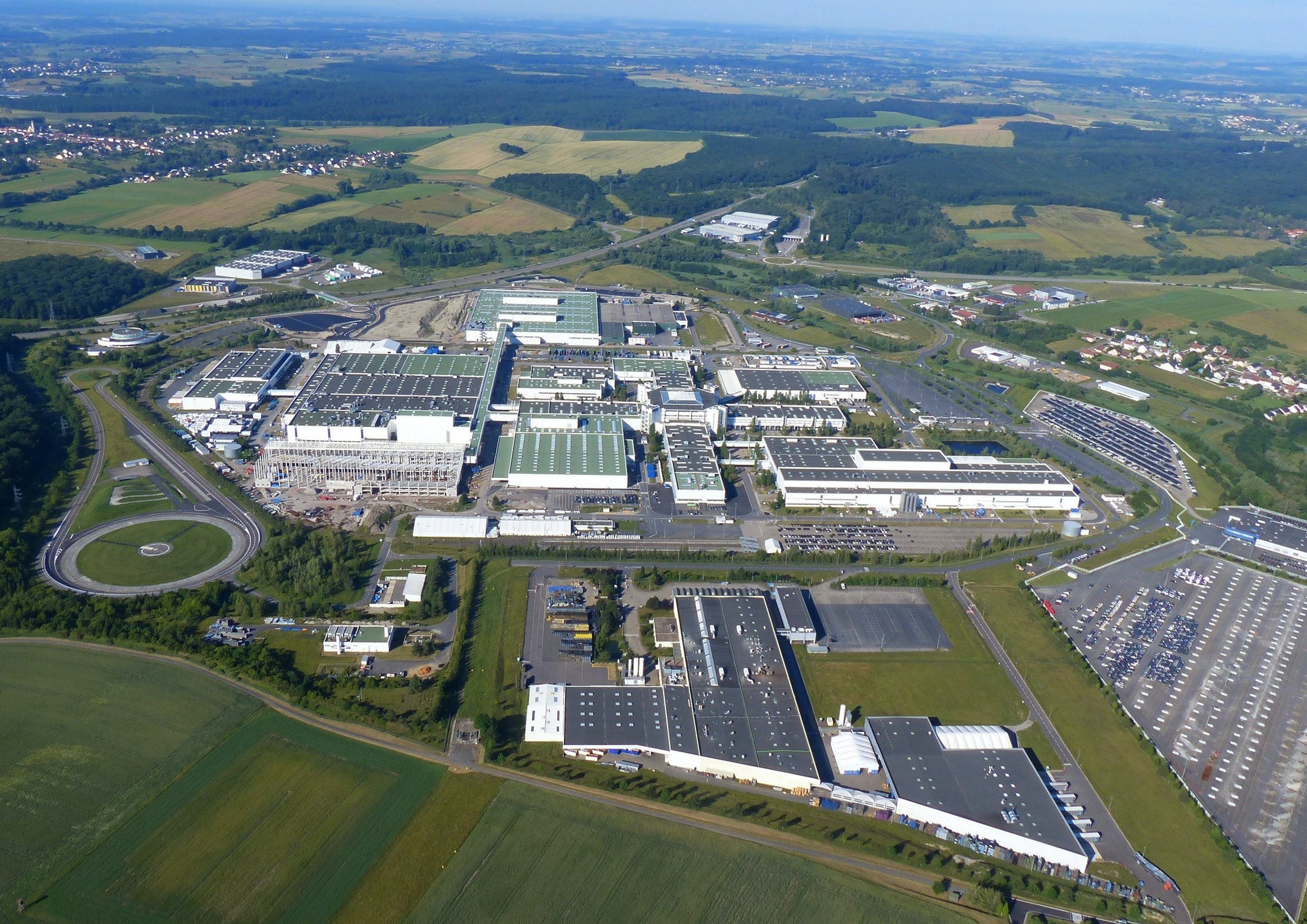 The former Mercedes-Benz site in Hambach will manufacture INEOS's uncompromising 4x4, the Grenadier