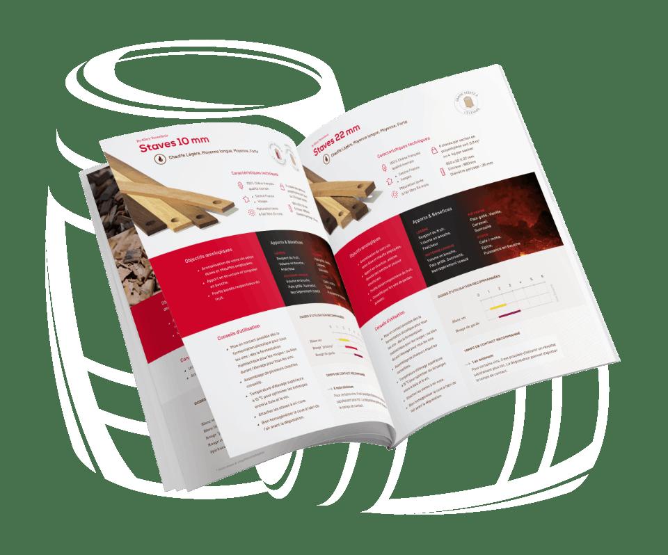 Tonnellerie Allary, identité de marque, illustrations et communication print