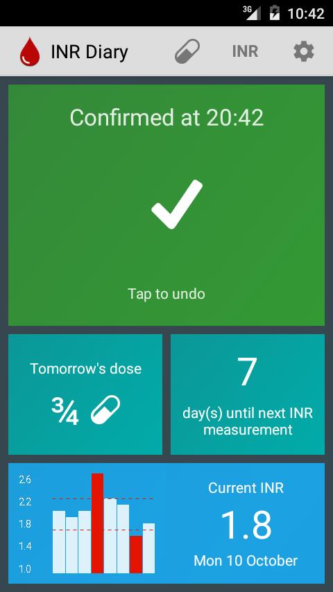 INR Diary screenshot 2