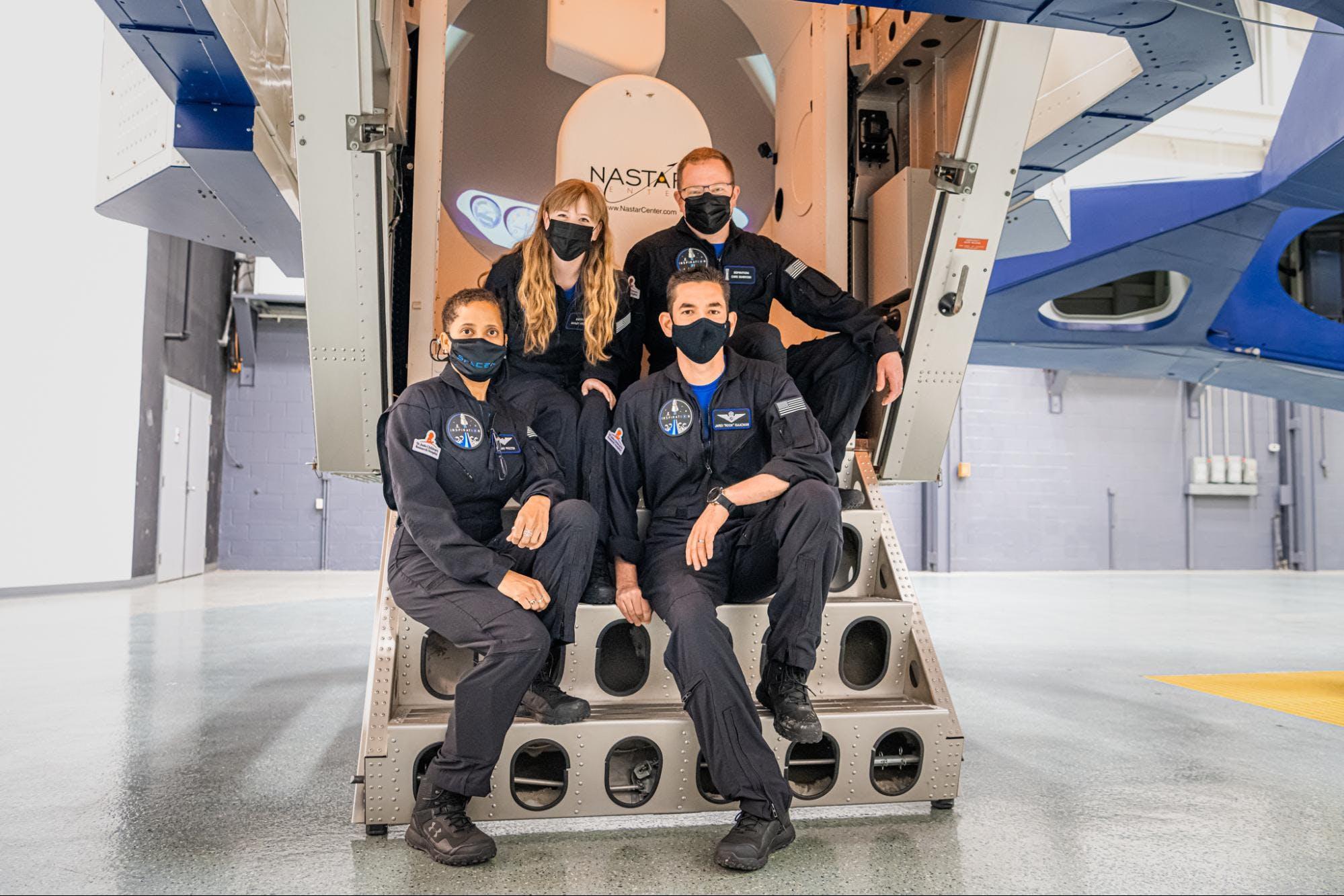 Inspiration4 crew completes centrifuge training