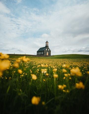 Hvalneskirkja Church, Reykjanes Peninsula