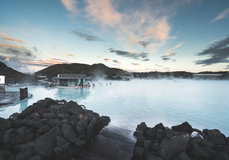 The Blue Lagoon geothermal pool