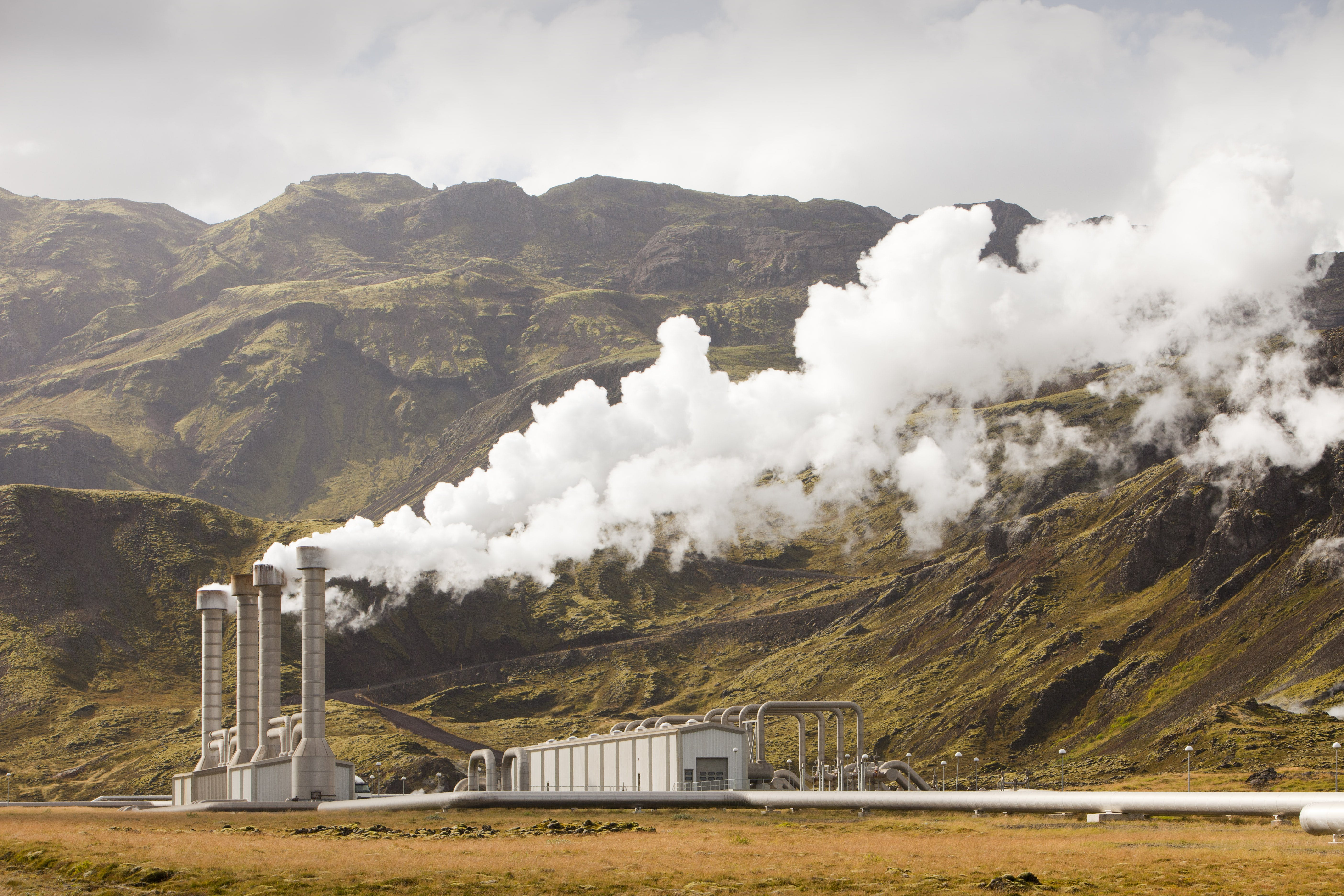 Hellisheiði, geothermal powerplant