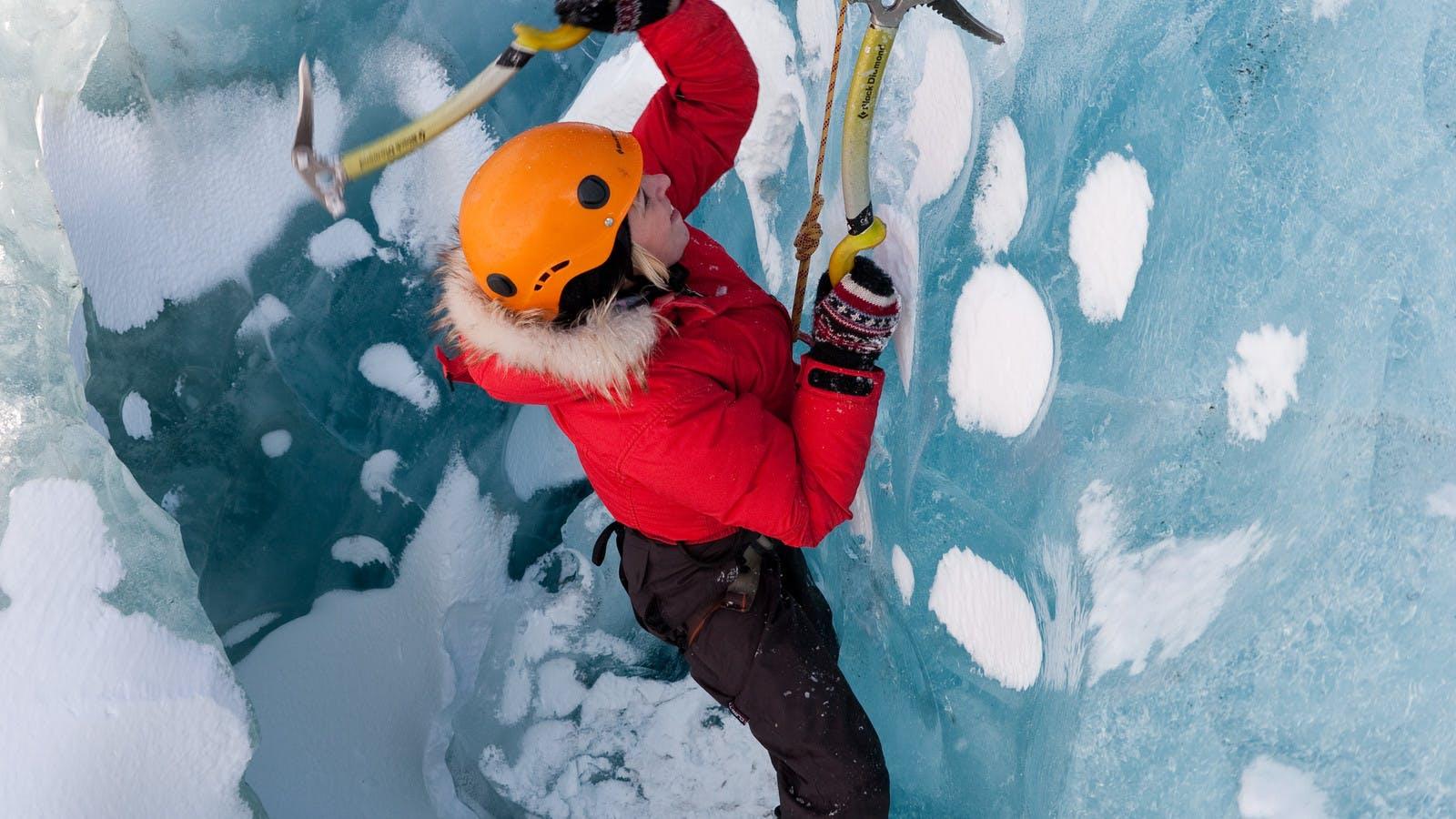 Climbing Sólheimajökull