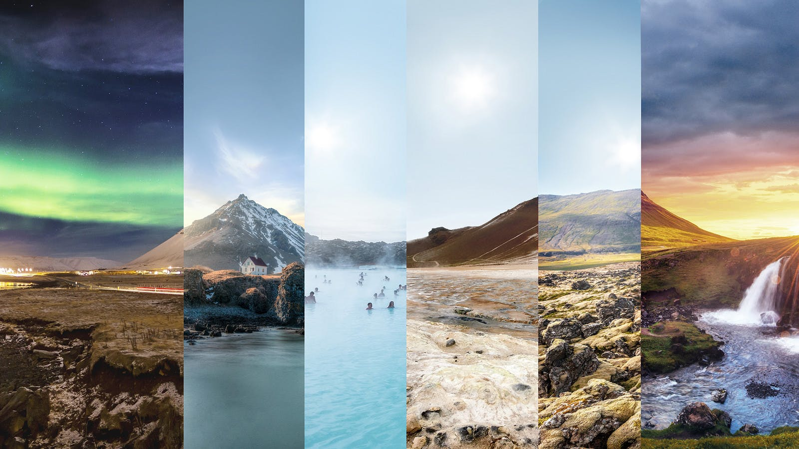 Make the most of your holiday. Iceland - it's about time.