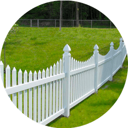 picket fence style