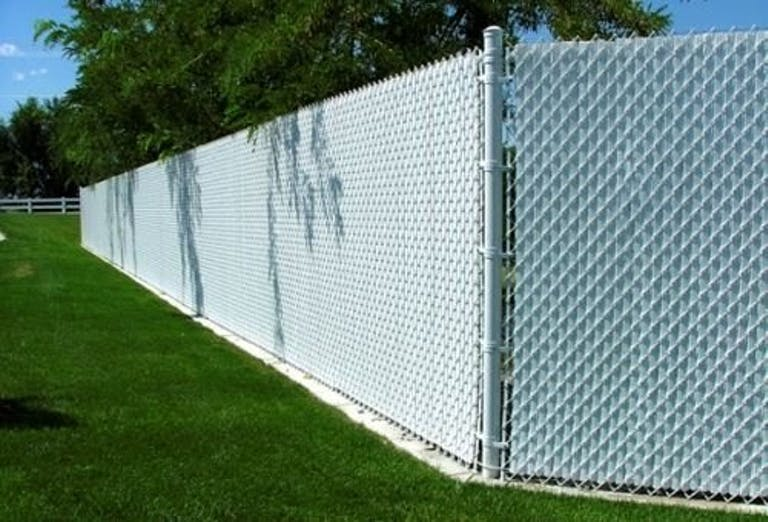 Stockton Fence and Material Company chain link fence