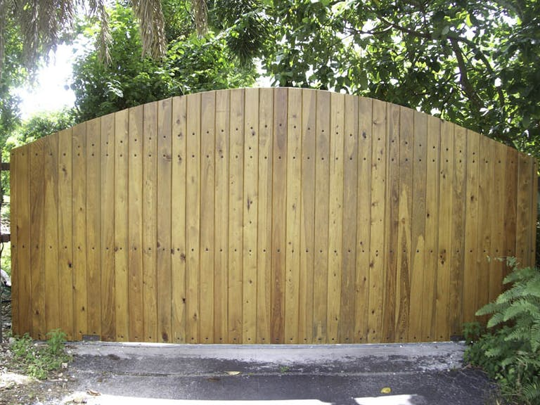 Triana Family Fence Inc. Wooden Fence