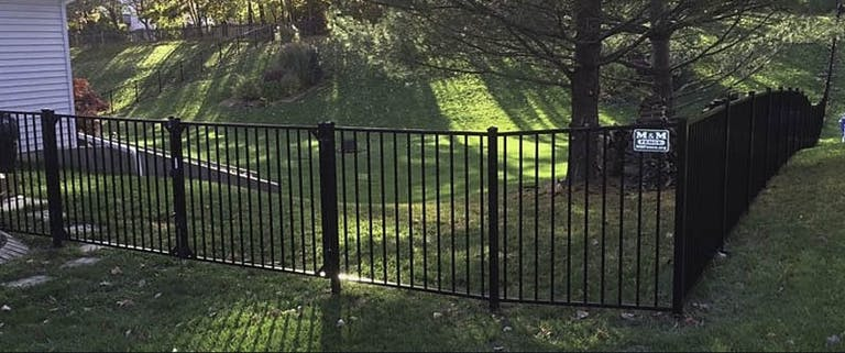 M&M-Fence-Iron Fence