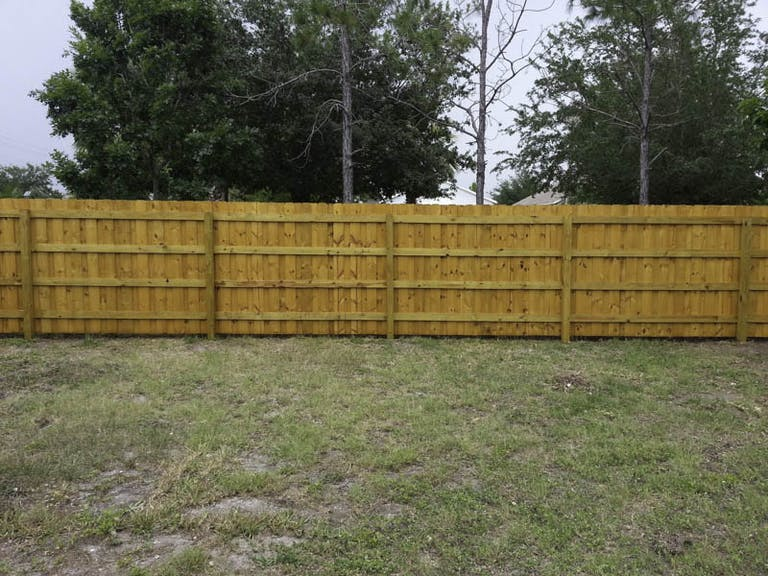 Dynamite Fence Company Wooden Fence