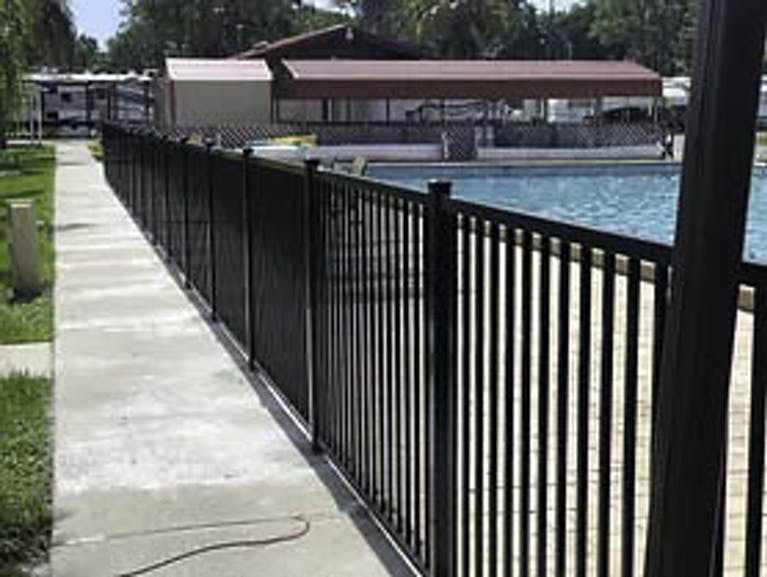 Griffin Fence and Clearing Inc. Steel Fence