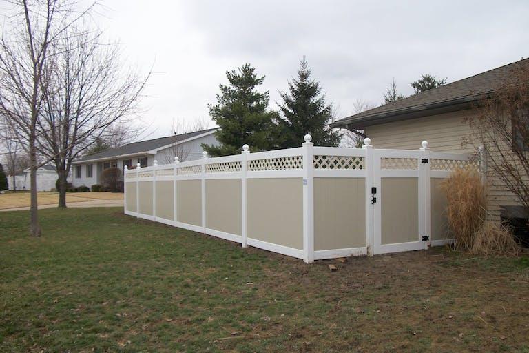 Beard Pools Spas & Fencing vinyl fence
