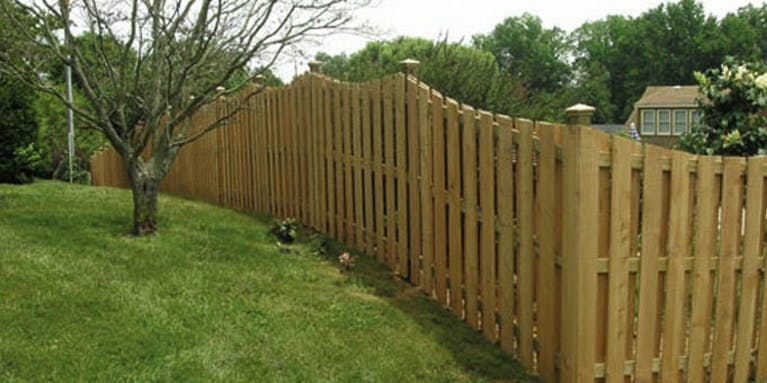 Arrow Fence Systems Wooden Fence