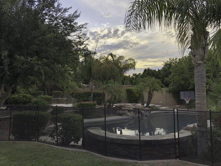 Arizona-Pool-Fence-Custom Fence