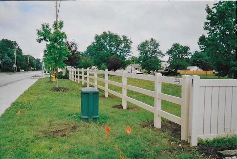 Dillion Inc. / Quality Fence wooden fence.