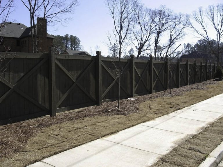 FenceWorks-of-Georgia-Wooden Fence