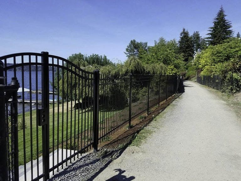 All-Around Fence Co. Iron Fence
