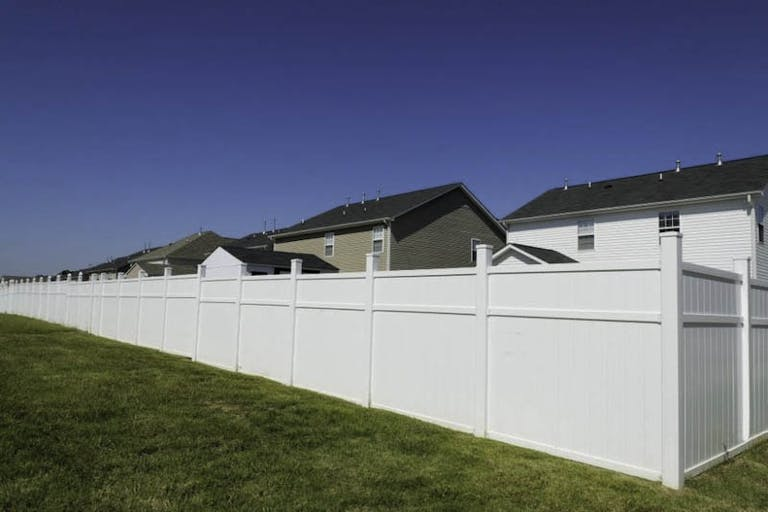 All Fence Co. Vinyl Fence