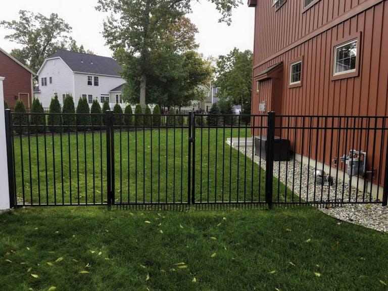 AFSCO Fence & Deck steel fence