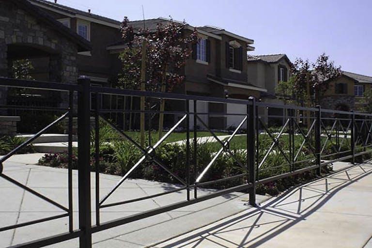 Fence Works Inc steel fence