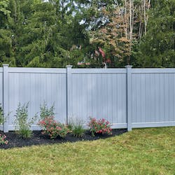privacy fence style