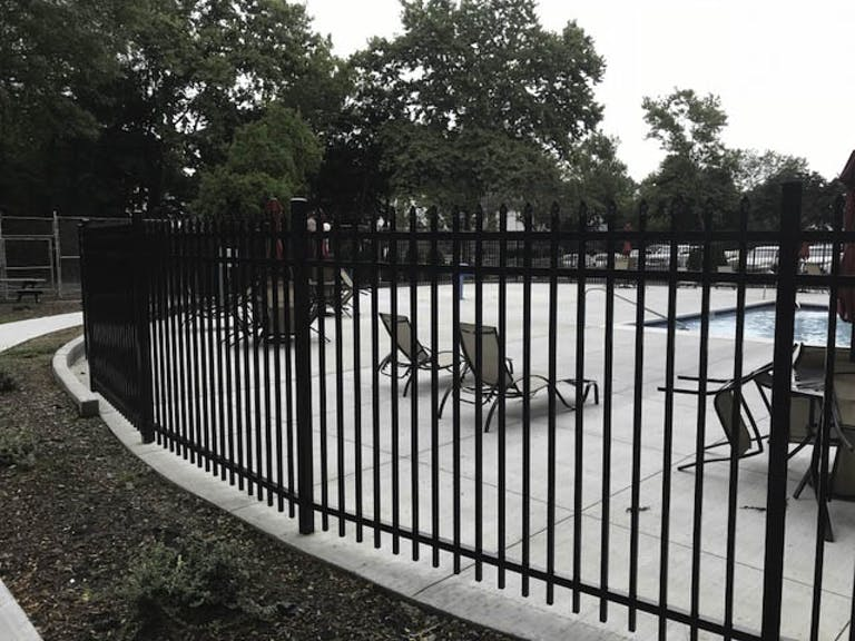 Giacorp Contracting steel fence