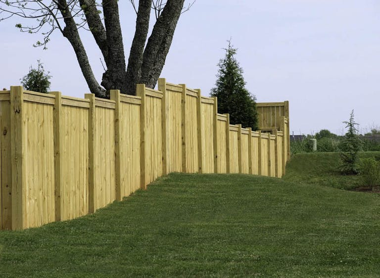 Decatur Fence Company Wood Fence