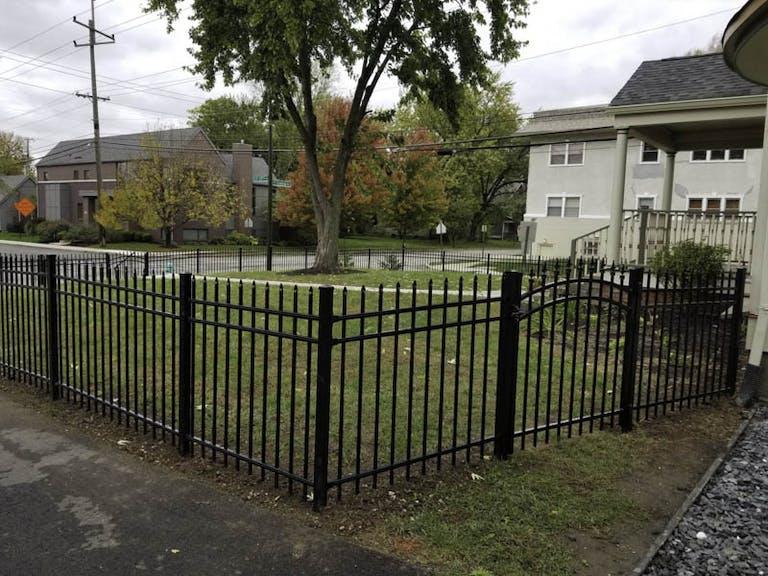 Draper-Fencing-Company-Iron Fence