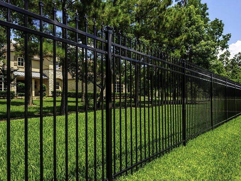 Texas Fence-Iron Fence