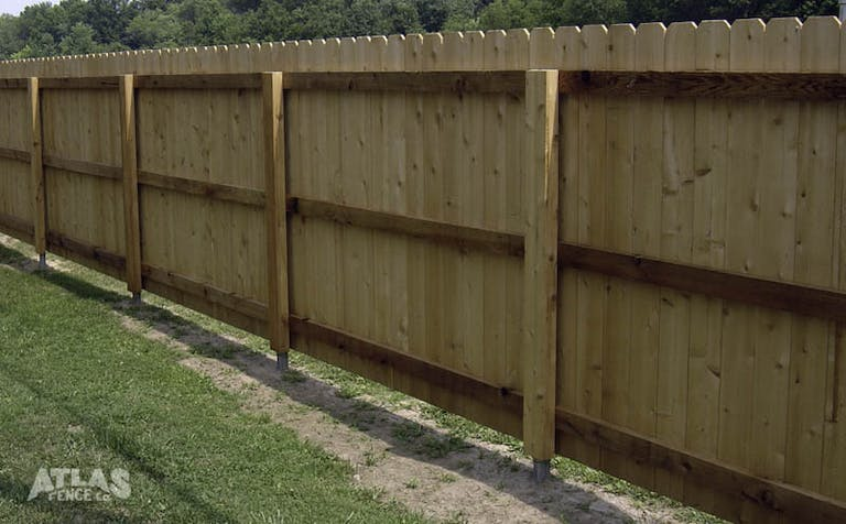 Atlas Fence Company Wooden Fence