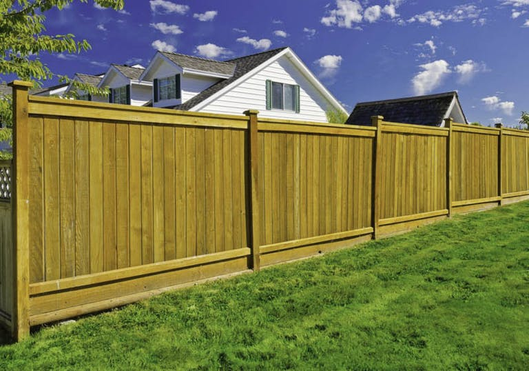 Valley-Cities-Fence-Co.-Wooden Fence