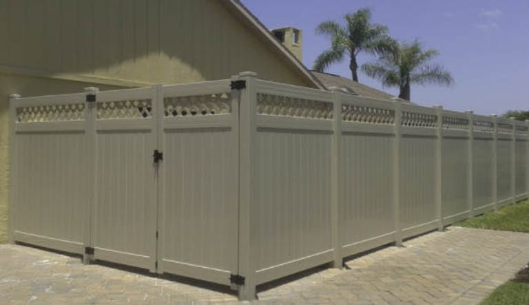 H&Y Fence Company Vinyl Fence