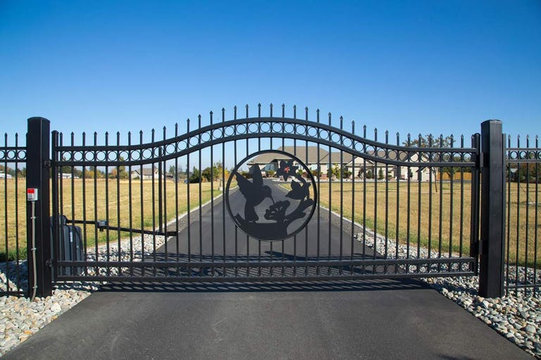 Northwest Fence Company Steel Fence