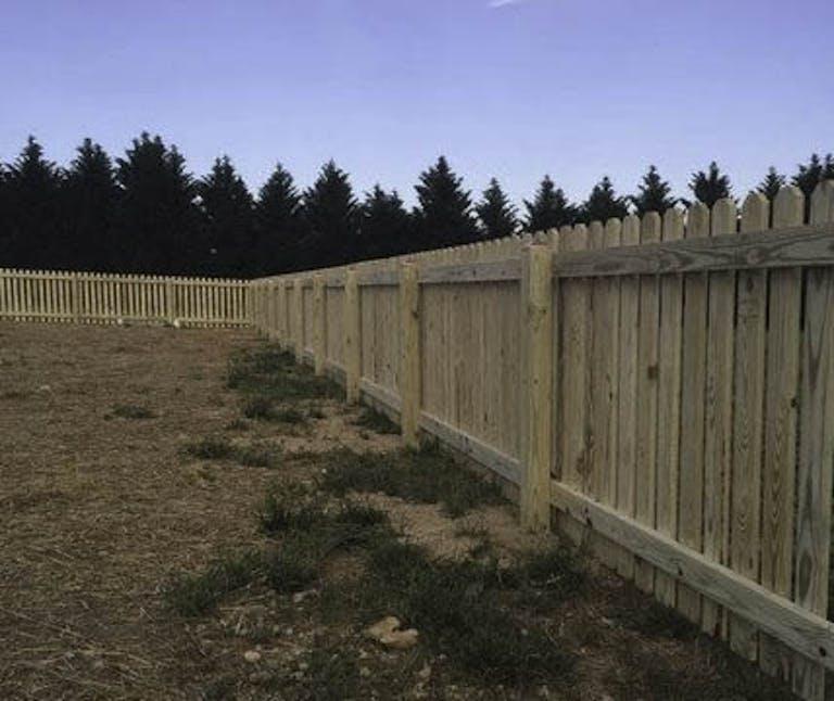 Delta-Fence-&-Decks-Wooden Fence