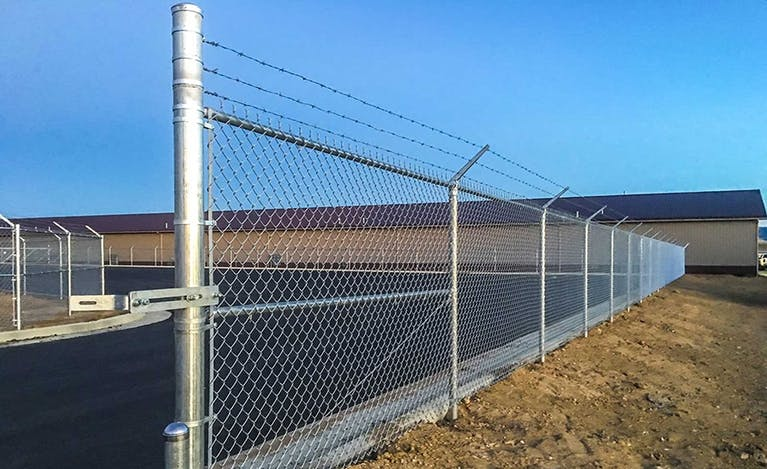 SWi chain link fence