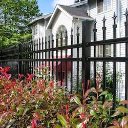ornamental aluminum fence style