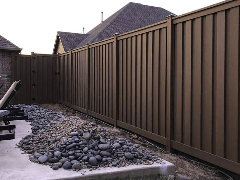 Proscape Outdoor Construction Wooden Fence