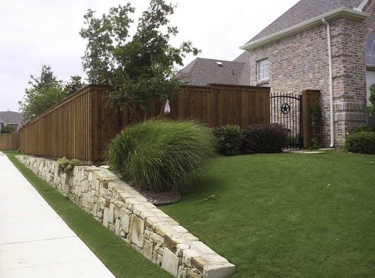 Blacksmith Fence Wooden Fence
