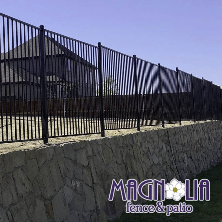 Magnolia Fence and Patio Steel Fence