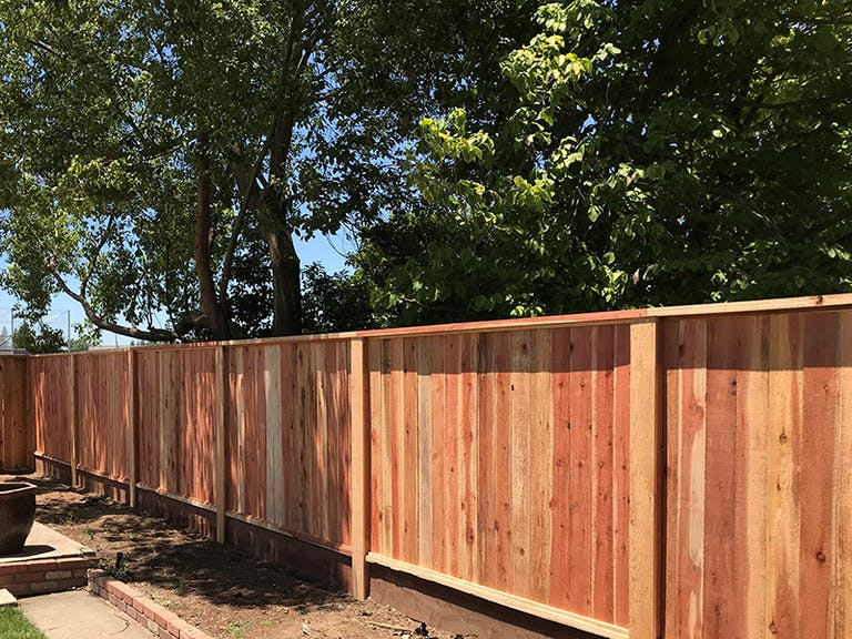 Palisade Fence Co. wooden fence