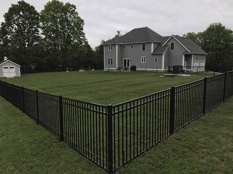 Durham Fence & Guardrail steel fence