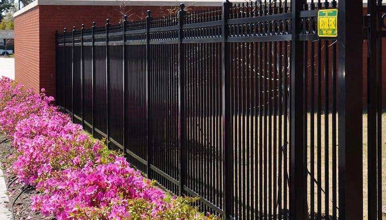 Westside  Fence  Co.  steel  fence