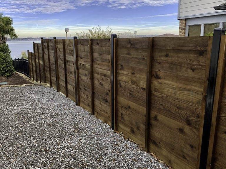 Jefcoat Fence Co.  Inc. Wooden Fence