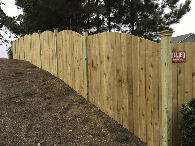 Allied-Fence-Wooden Fence