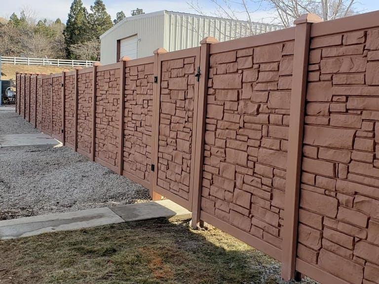 JP Fence LLC Vinyl custom fence