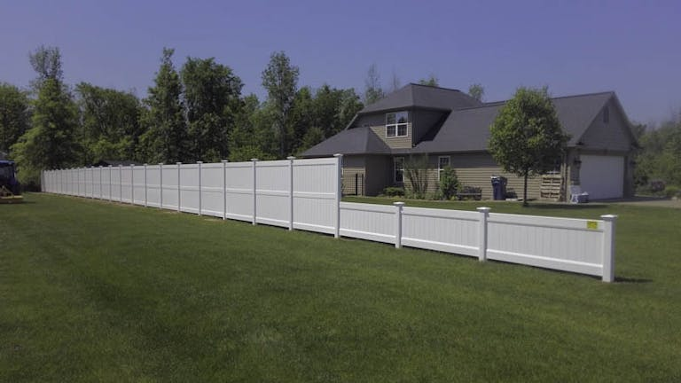 Capital Fence Co. Inc. Wooden Fence