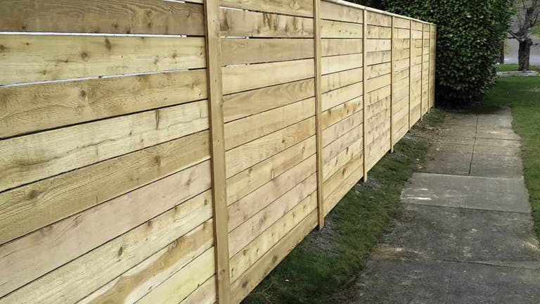 Shelton's-Outback-Fence-Co.-Wooden Fence