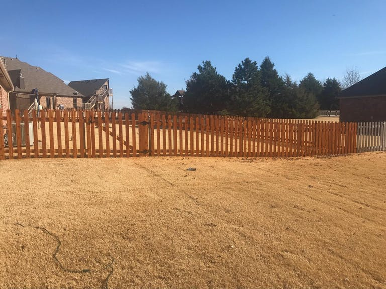 Fence Masters wooden fence