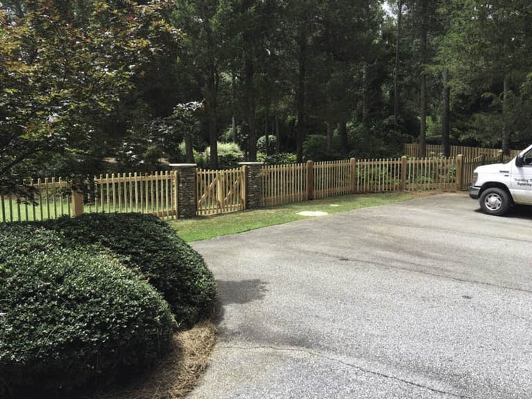 Akridge-Fence-Company-Wooden Fence